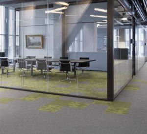 Tarkett – Carpete em Placas – Colado – Linha Desso – Coleção Essence Maze