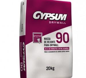 Massa de Rejunte Gypsum 90 – Acessórios de Drywall – Gypsum