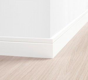 Rodapé Noble Branco 10 cm – Quick Step
