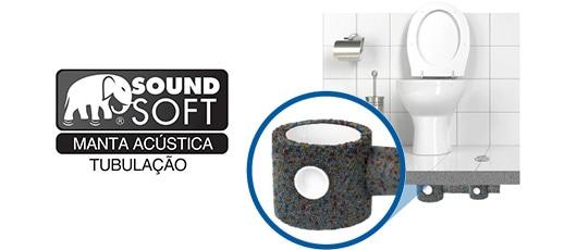 Aubicon – Manta Acústica – Sound Soft Piso Tubulação